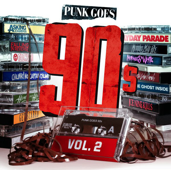 Various ‎– Punk Goes 90s Vol. 2 - New Vinyl Record 2014 USA (Limited edition White Vinyl / 500 Made) - Punk / Metalcore / Hardcore