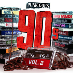 Various ‎– Punk Goes 90s Vol. 2 - New Vinyl 2014 USA (Limited edition White Vinyl / 500 Made) - Punk / Metalcore / Hardcore