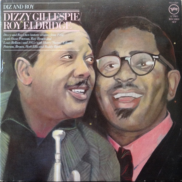 Dizzy Gillespie & Roy Eldridge ‎– Diz And Roy - Mint- 2xLp Record 1977 USA Original Vinyl - Jazz