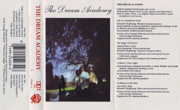 The Dream Academy ‎– The Dream Academy - VG+ 1985 USA Cassette Tape