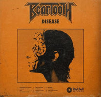 Beartooth - Disease - New Vinyl Lp 2018 Red Bull Records 'Indie Exclusive' Pressing on Orange Vinyl with Download - Hardcore / Metalcore / Punk