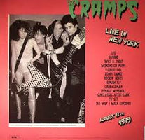 The Cramps - Live In New York 1979 - New Vinyl 2015 180gram Lp - Rock / Psychobilly
