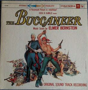 Elmer Bernstein ‎– The Buccaneer (An Original Recording 1958) - Mint- Stereo USA 1970's Press Record - Soundtrack