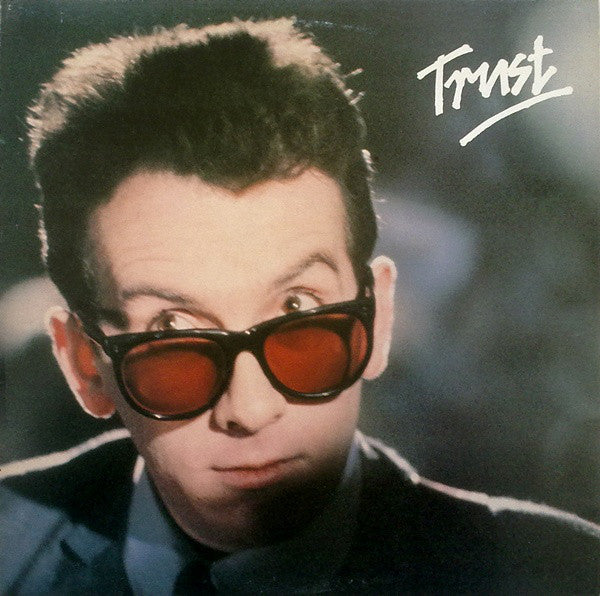 Elvis Costello & The Attractions - Trust - VG+ 1981 Stereo (Original Press With Matching Inner Sleeve) USA - New Wave/Rock