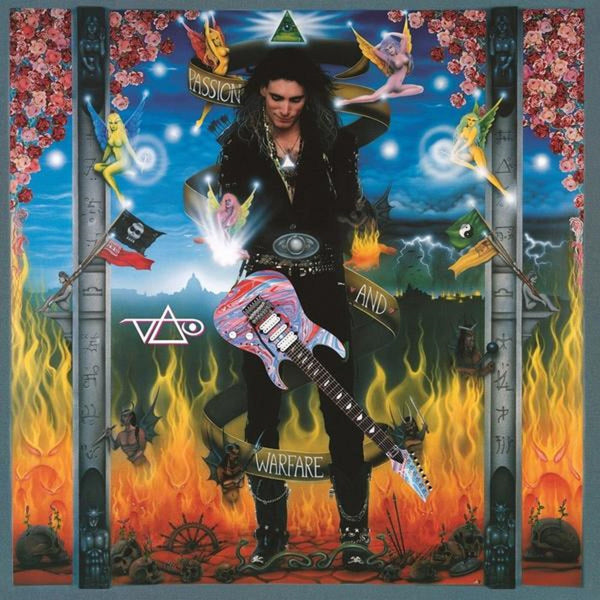 Steve Vai - Passion and Warfare (1990) - New Vinyl 2 Lp 2019 Friday Music 180gram Reissue on Translucent Blue Audiophile Vinyl - Hard Rock
