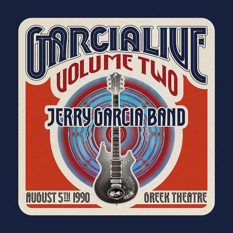 The Jerry Garcia Band ‎– Garcia Live Volume 2 (August 5th 1990 Greek Theatre) - New 4 LP Box Set Record Store Day Black Friday 2020 ATO RSD USA Vinyl - Psychedelic Rock / Country Rock