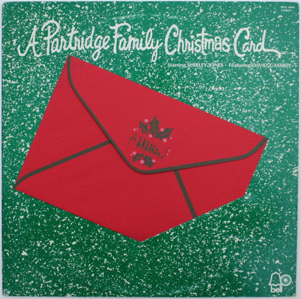 The Partridge Family ‎– A Partridge Family Christmas Card - VG+ 1971 Stereo USA Original Press (With facsimile autographed Christmas Card, in a red envelope) - Holiday