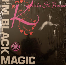 "Karla St. James ‎– I'm Black Magic MINT- (2x12"" Singles) 1992 Fly Records USA - Chicago House"
