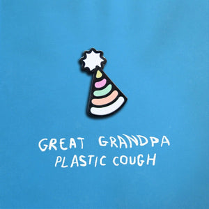 Great Grandpa ‎– Plastic Cough - New Cassette 2017 Double Double Whammy Pink Tape - Alternative Rock / Grunge Pop