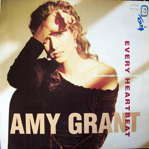 "Amy Grant ‎– Every Heartbeat - Mint- 12"" Single 1991 USA - Synth-Pop"