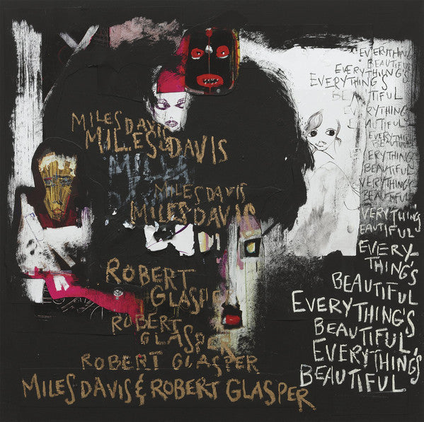 Miles Davis & Robert Glasper ‎– Everything's Beautiful - New Vinyl Record 2016 USA (Red Vinyl EXCLUSIVE!)