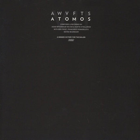 A Winged Victory For The Sullen ‎– Atomos VII - Mint- Lp Record 2014 Kranky USA Vinyl - Neo-Classical