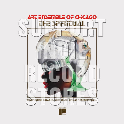 Art Ensemble Of Chicago - The Spiritual - New Lp 2019 ORG Music RSD Exclusive Reissue on Red Vinyl - Free Jazz