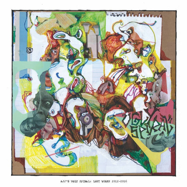 AJJ -  Ugly Spiral: Lost Works 2012-2016 - New Vinyl Lp 2018 SideOneDummy Compilation - Punk / Folk