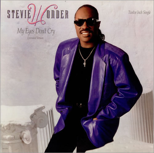 "Stevie Wonder - My Eyes Don't Cry - New 12"" Single USA 1988 - Soul/Funk"