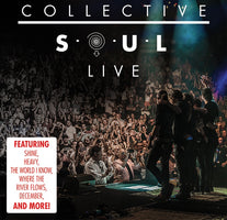 Collective Soul ‎– Live - New Vinyl 2017 Suretone 2 Lp Pressing with Gatefold Jacket - Alt-Rock