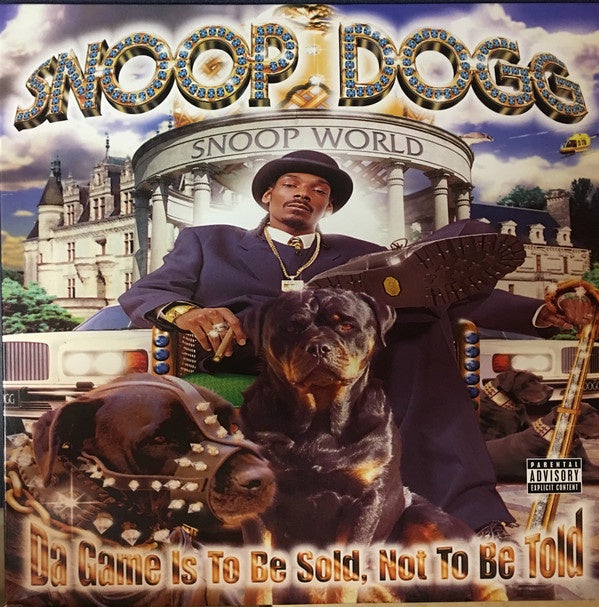 Snoop Dogg - Da Game Is To Be Sold, Not To Be Told - New 2015 Record 2 LP Black Vinyl Reissue - Gangsta Rap