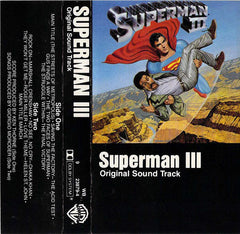 Various - Superman III (Original Sound Track) - VG+ 1983 USA Cassette Tape - Soundtrack