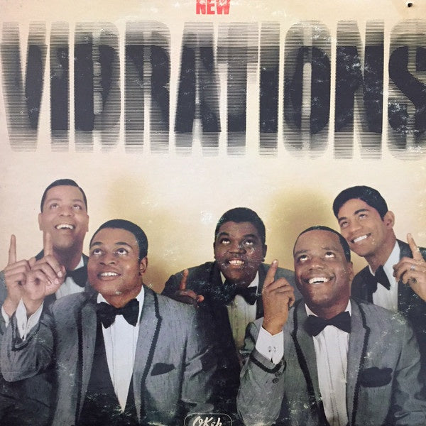 The Vibrations ‎– New Vibrations - VG+ Lp Record 1966 USA Mono Original Vinyl - Soul