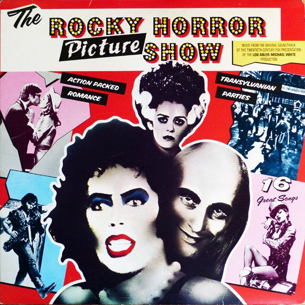 The Rocky Horror Picture Show ‎– The Rocky Horror Picture Show - New Vinyl Lp 2018 Ode Limited Edition 'Ten Bands One Cause' Pressing on Pink Vinyl - Soundtrack / Musical