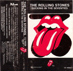 The Rolling Stones - Sucking In The Seventies VG+ - 1981 Rolling Stones USA Cassette - Rock