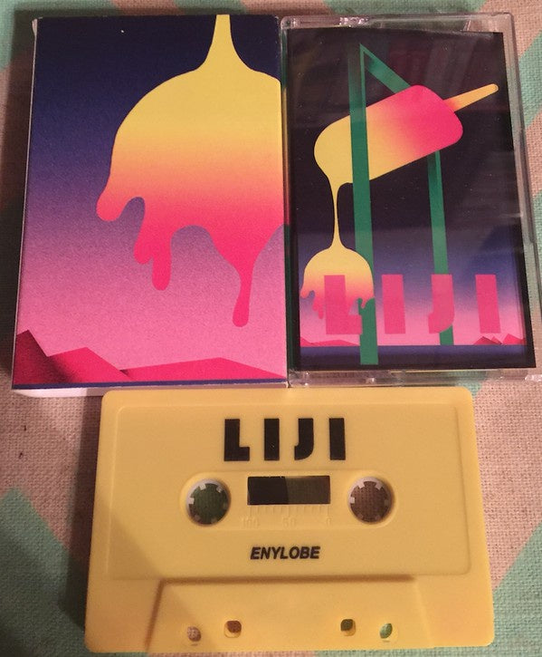 Enylobe ‎– Liji - New Cassette 2016 USA Yellow Tape - Vaporwave