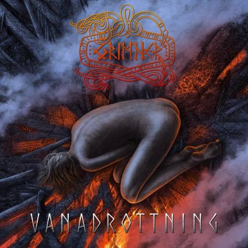 Grimner ‎– Vanadrottning - New Vinyl Lp 2018 Despotz Records Import Pressing with Gatefold Jacket - Folk Metal