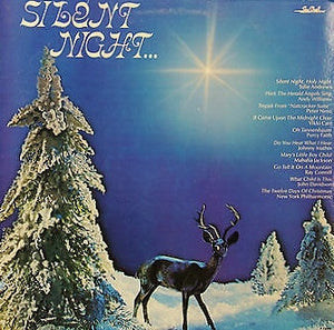 Various ‎– Silent Night... - New Lp Record 1981 CBS USA Vinyl - Holiday / Christmas