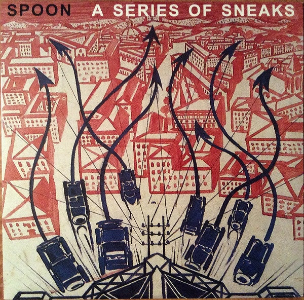 Spoon ‎– A Series Of Sneaks - New Vinyl Lp 2008 Merge Records 180gram Reissue with Download - Indie Rock