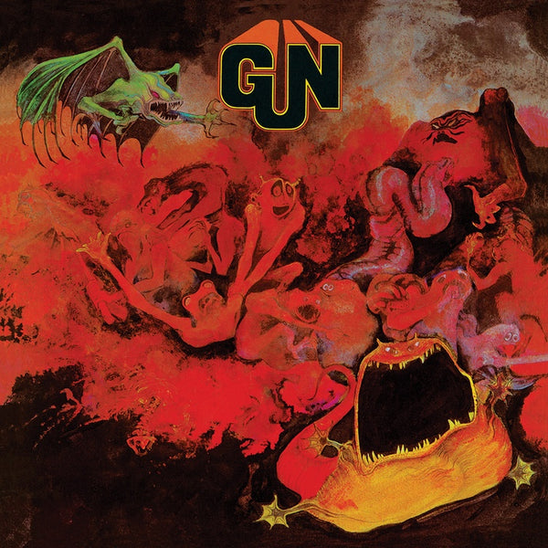 Gun ‎– Gun (1968) - New Vinyl Lp 2019 Real Gone Music Reissue on 'Red Devil' Colored Vinyl (Limited to 1000!) - Hard / Psych Rock