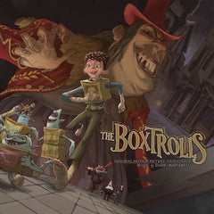 Dario Marianelli, Loch Lomond, Mark Orton ‎– The Boxtrolls - Mint- 2015 USA 2 LP Set (Limited Edition 500 Copies Made, On Cheese Wheel colored Orange and Cream colored Vinyl) - Soundtrack