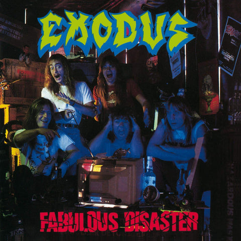 Exodus ‎– Fabulous Disaster (1988) - New LP Record 2019 Red Music USA Limited Edition Translucent Red Vinyl Reissue - Thrash Metal