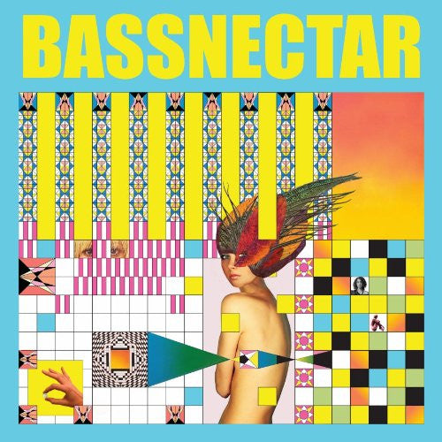 Bassnectar - Noise vs Beauty - New 2 Lp Record 2014 USA Yellow & Blue Vinyl  with Download & Poster - Electronic / Dubstep