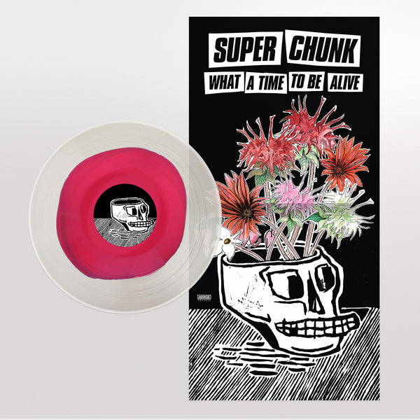 Superchunk - What a Time to Be Alive - New Vinyl 2018 Merge Records 'Indie Exclusive' on Pink & Clear Swirl Vinyl with Poster and Download (Limited to 3000!) -  Indie Rock