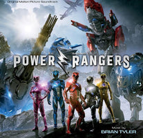 Brian Tyler / Soundtrack - Power Rangers (Original Motion Picture) - New Vinyl Record 2017 Lions Gate Indie Exclusive Pressing on 'Blue Ranger' Colored Vinyl (Limited to 500!) - Soundtrack