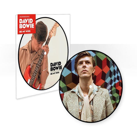 "David Bowie - Be My Wife / Art Decade (Live Perth '78) - New 7"" Vinyl 2017 Rhino / Parlophone '40th Anniversary' Picture Disc - Art Rock / Glam"