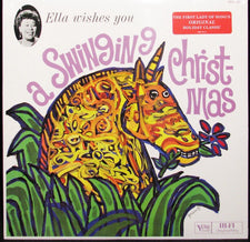 Ella Fitzgerald ‎– Ella Wishes You A Swinging Christmas (1960) - New Vinyl 2014 Verve 180Gram Stereo Reissue - Jazz / Holiday