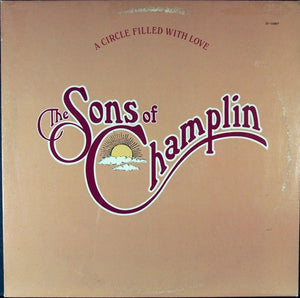 The Sons Of Champlin ‎– A Circle Filled With Love - VG+ Lp Record 1976 USA Original Vinyl - Rock