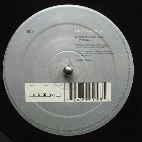 "16C+ ‎- Under 4 Ever - VG+ 12"" Single 2001 UK - Progressive House"