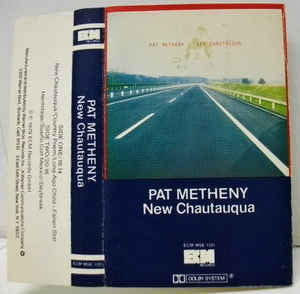 Pat Metheny - New Chautauqua - VG+ 1979 USA Cassette Tape - Jazz