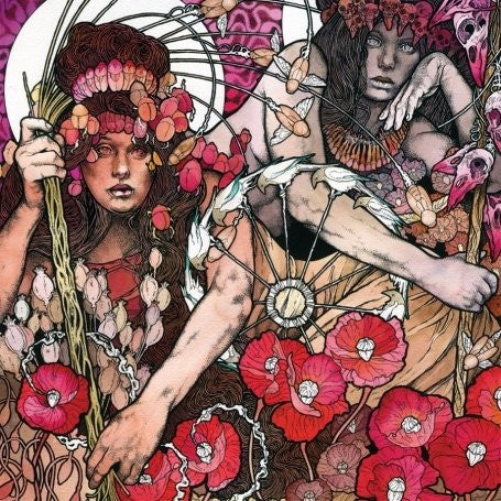 Baroness - Red - New Vinyl 2015 Relapse records 2-LP on Black Vinyl with Gatefold Jacket (5000 Pressed) - Metal / Sludge / Prog