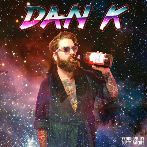 Dan K ‎– Dan K - New Cassette 2018 Sooper Black Tape & Download - Hip Hop