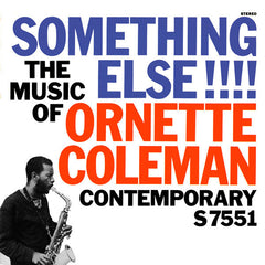Ornette Coleman ‎– Something Else!!!! (1958) New Vinyl 2011 Contemporary Records Stereo Reissue USA - Jazz / Free Jazz
