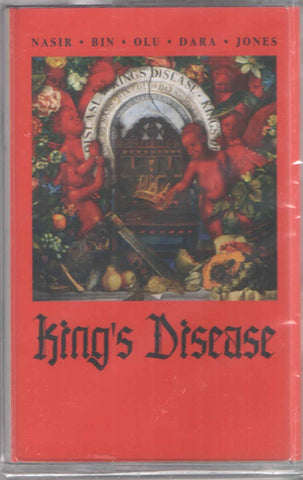 Nas ‎– King's Disease - New Cassette 2020 Mass Appeal USA Red Tape - Hip Hop