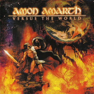 Amon Amarth ‎– Versus The World (2002) - New Vinyl 2017 Metal Blade 180Gram 'Ultimate Vinyl Edition' with Lyric Sheet and 2-Sided Poster - Death / Viking Metal