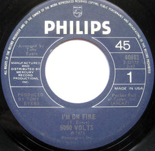 5000 Volts ‎– I'm On Fire / Still On Fire - VG+ 45rpm 1975 USA - Disco