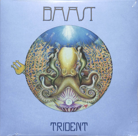 Baast ‎– Trident - New Lp Record 2020 Ubiquity USA Vinyl - Free Jazz / Psychedelic / Funk / Ambient / Fusion