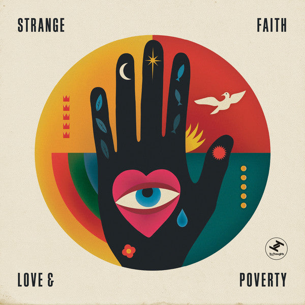 Strange Faith ‎– Love & Poverty - New Vinyl 2015 UK Import Press With Download - Soul / Funk