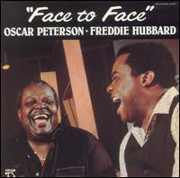 Freddie Hubbard & Oscar Peterson - Face To Face - VG+ 1982 Stereo USA - Jazz