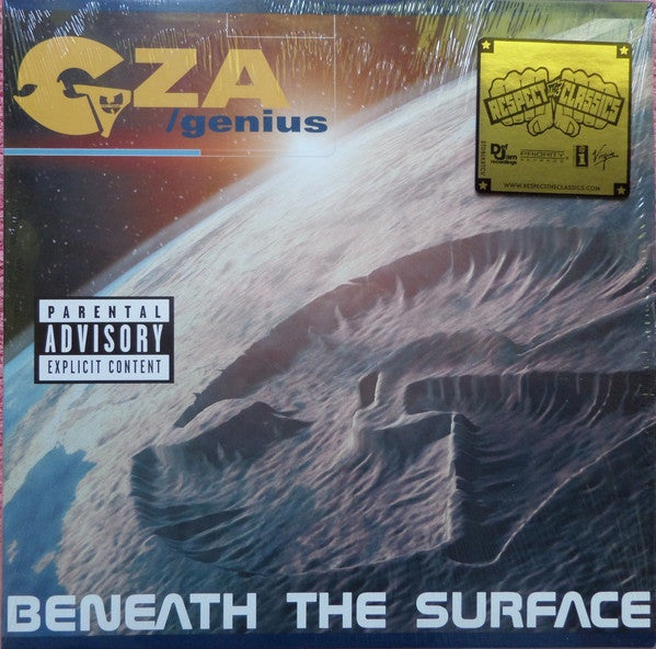 GZA / Genius ‎– Beneath The Surface (1999) - New Vinyl 2016 Geffen 'Respect The Classics' 2-LP Reissue - Rap / Hip Hop (FU: Wu-Tang)